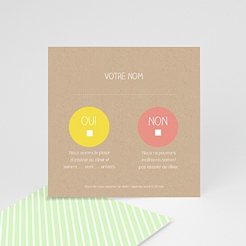 Achat cartons réponse bulles créatives