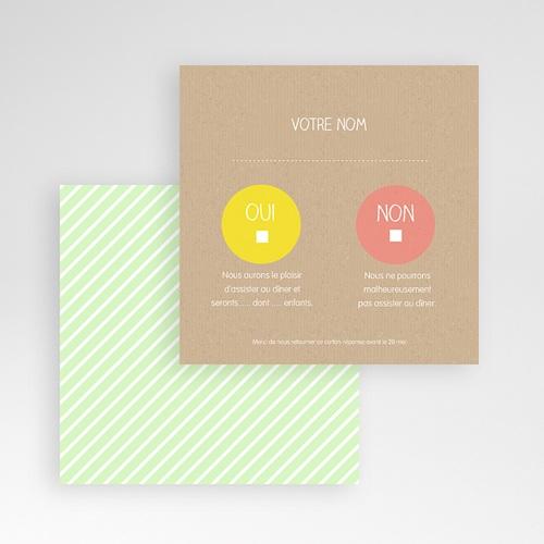Cartons réponse Bulles créatives gratuit