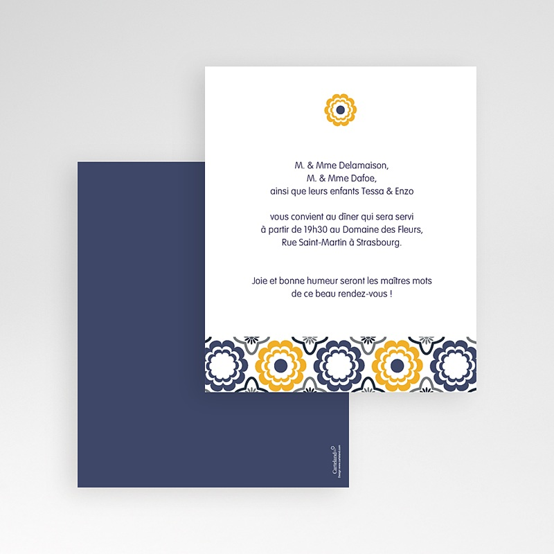 Carte d'invitation Mer et Soleil gratuit