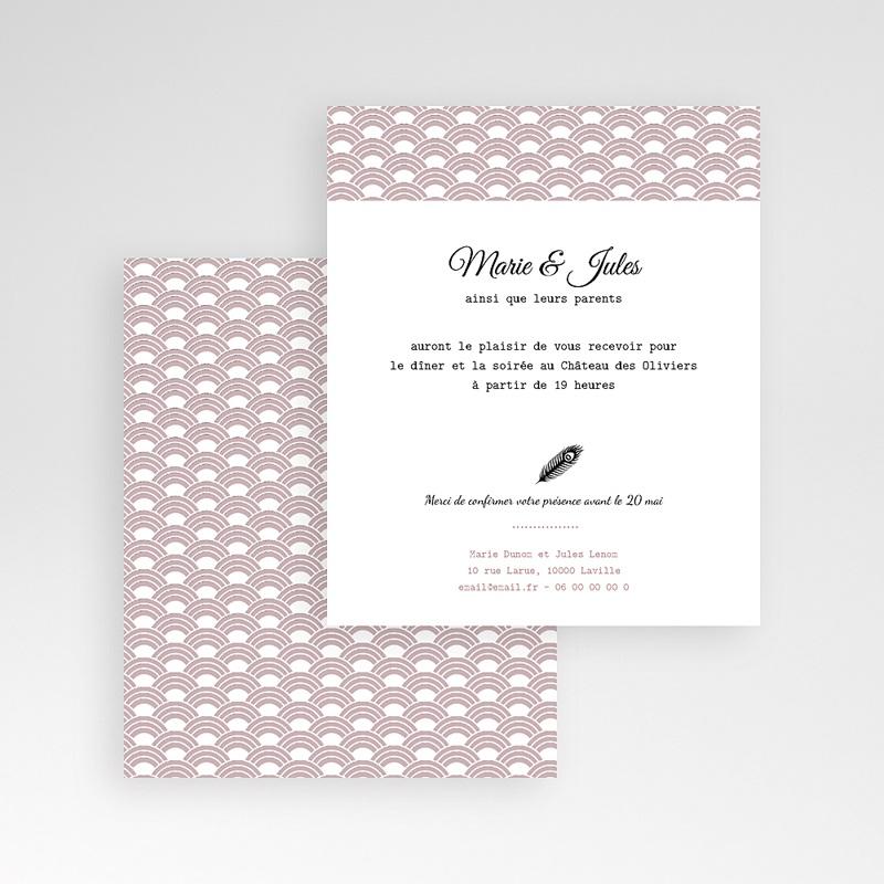 Carte d'invitation Années Folles gratuit
