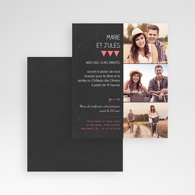 Carte d'invitation Photo amoureux gratuit