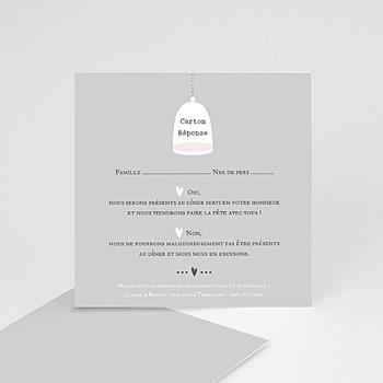 Cartons réponse amour illuminé sur mesure