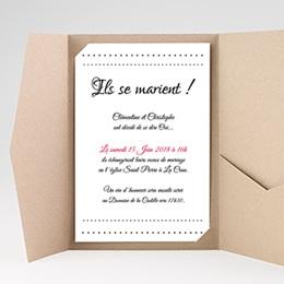 Faire-Part Mariage Elégance
