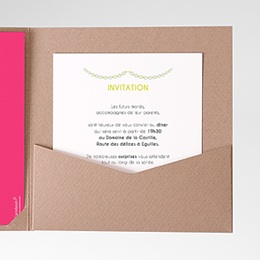 Invitations Flacons d'amour