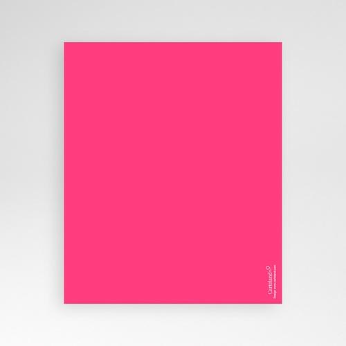 Carte d'invitation Flacons d'amour pas cher