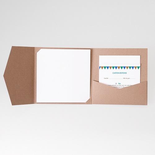 Cartons réponse Mosaïques Bleues