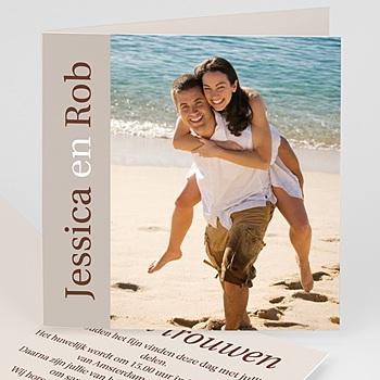 Faire-Part Mariage Personnalisés - Nous deux - invitation photo, remerciements - 3