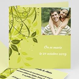 Faire-Part Mariage Mariage Bucolique