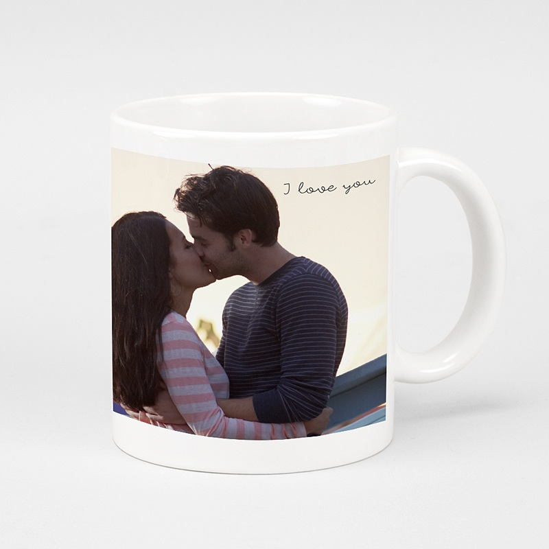 Mug Personnalisé Photo I love you