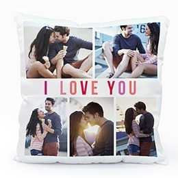 Coussin Loisirs I love you