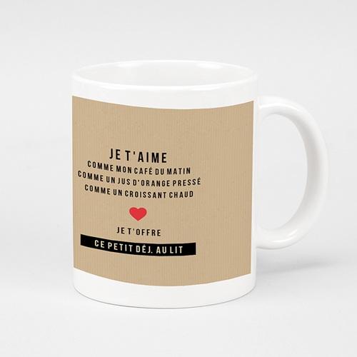 Mug Personnalisé Photo My Valentine