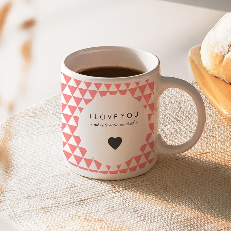 Mug Personnalisé - Mon Valentin 40447 thumb