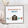 Faire-Part Naissance Garçon - Jeu Vidéo 40451 thumb