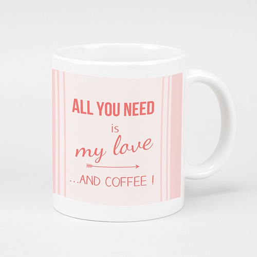 Mug Personnalisé - Love and coffee 40475 thumb