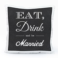 Coussin Personnalisé Photo Be Married