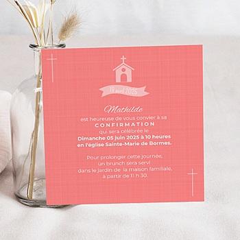 Carte invitation confirmation Quo vadis