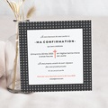 Carte Invitation - Motifs Croix - 4047