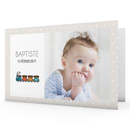 Faire-Part Naissance Garçon - Petits jouets 40748