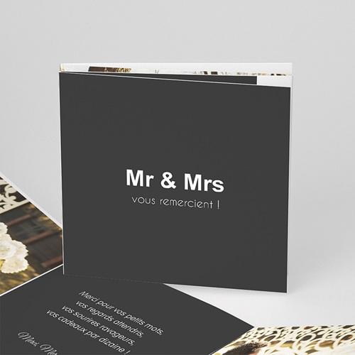 Remerciements Mariage Personnalisés Mr & Mrs
