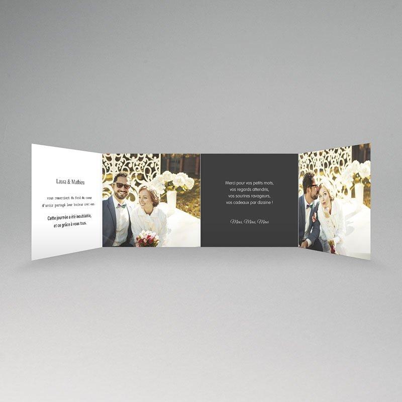 Remerciements Mariage Personnalisés Mr & Mrs pas cher