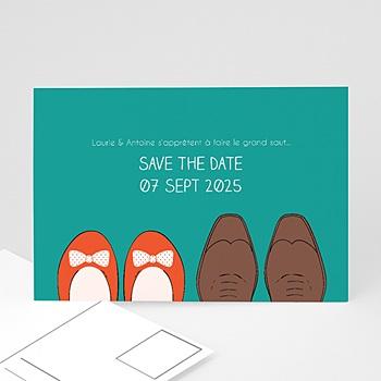 Créer soi même save the date mariage petits pas