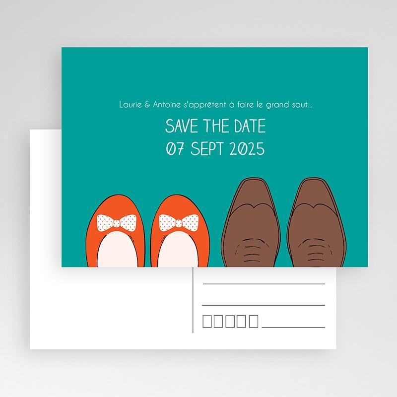 Save The Date Mariage Petits pas gratuit