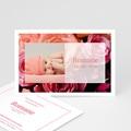 Faire-Part Naissance Fille - Rosa, rosa, rosam 4164 thumb
