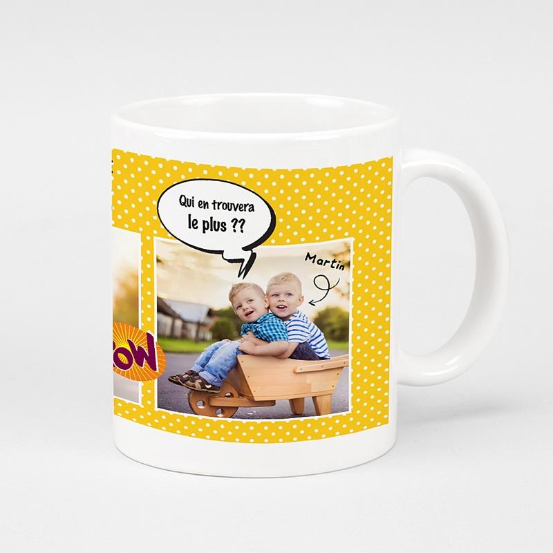 Mug Personnalisé Photo Chasse aux oeufs