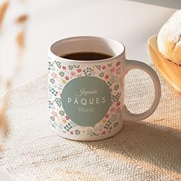 Mug Pâque fleurie