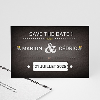 Save the date mariage marions-nous ! pas cher