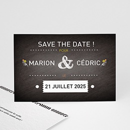 Save the date Mariage Marions-nous !
