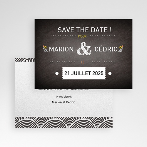 Save-The-Date - Marions-nous ! 41756 preview