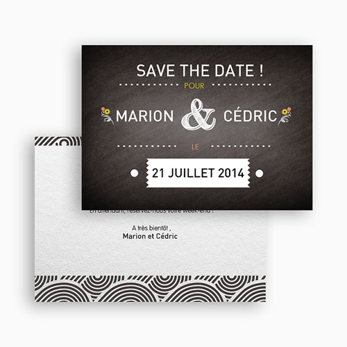 Save-The-Date - Marions-nous ! 41757 preview