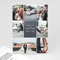 Carte remerciement mariage - L'amour couronné - 4231