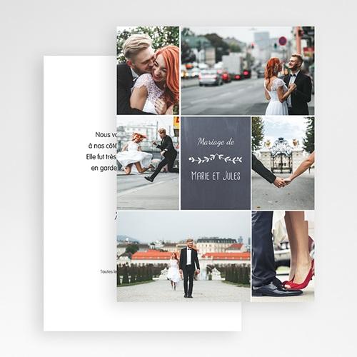Remerciements Mariage Personnalisés L'amour couronné gratuit