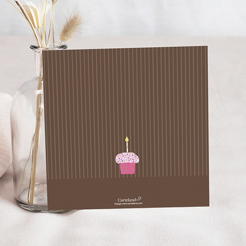 Carte invitation anniversaire fille 1 an fille pas cher