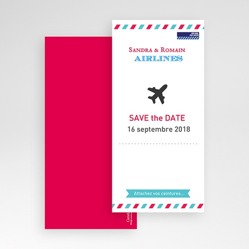 Save-The-Date - Airlines 41979 preview