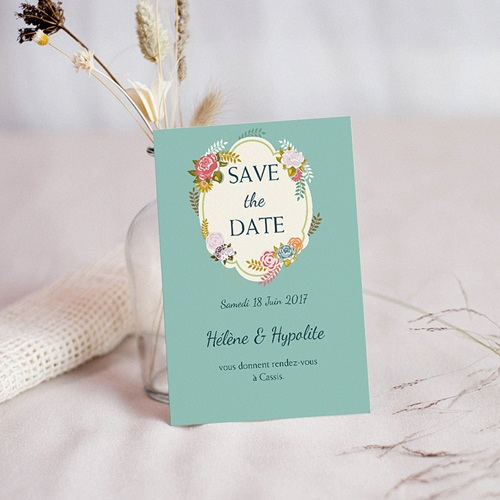 Save-The-Date - Champêtre Vintage 42008