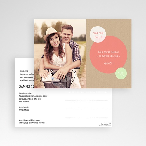 Save-The-Date - Bulles créatives 42087 preview