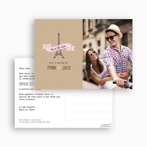 Save-The-Date - Love in Paris 42132 preview