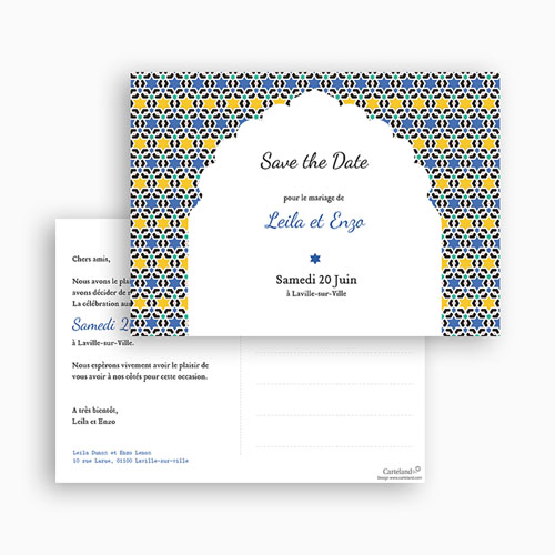 Save-The-Date - Arche Oriental 42152 preview