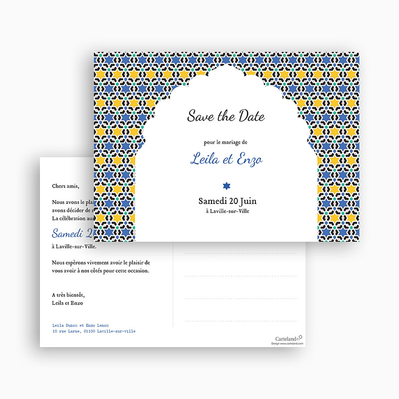 Save-The-Date - Arche Oriental 42152 thumb