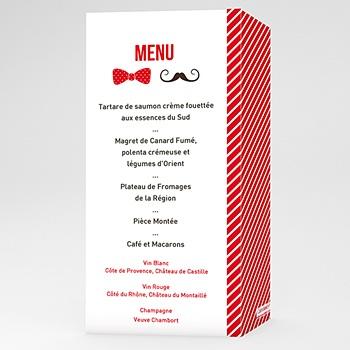 Acheter menu mariage personnalisé monsieur et madame