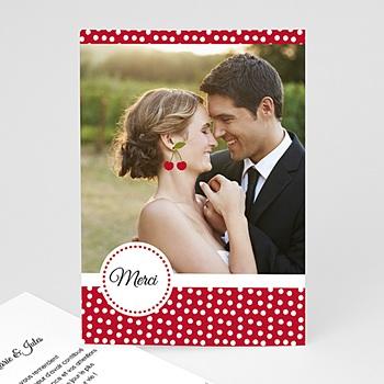 Acheter remerciements mariage personnalisés le temps des cerises