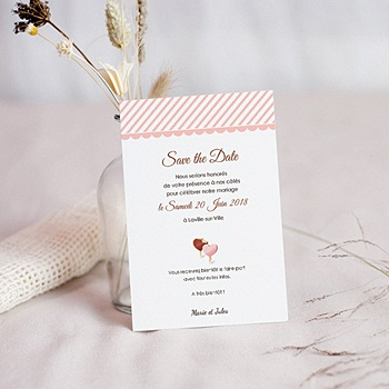 Achat save the date mariage péché gourmand