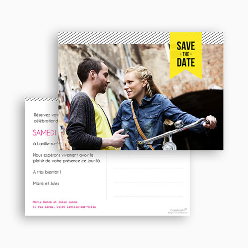 Save-The-Date - Fluo 42510 thumb