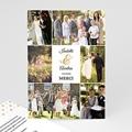 Carte remerciement mariage - De Bon Ton - 4356