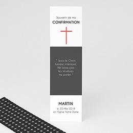 Marque Page Communion Croix Moderne
