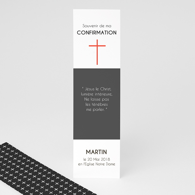 Marque-Page Croix Moderne