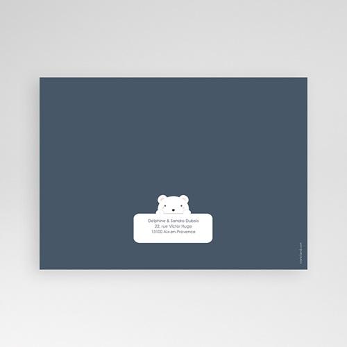 Faire-Part Naissance Garçon - Ourson Tendresse 42787 thumb